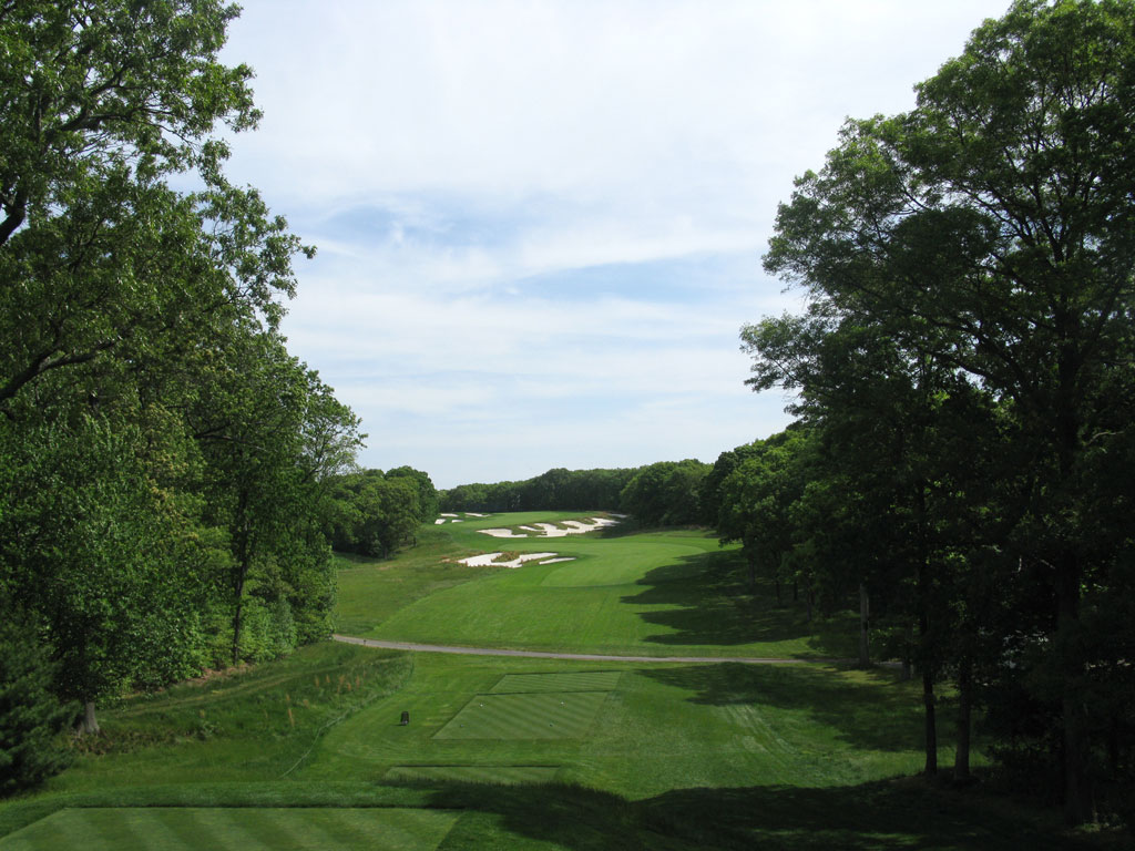 4th Hole at Bethpage State Park (Black)