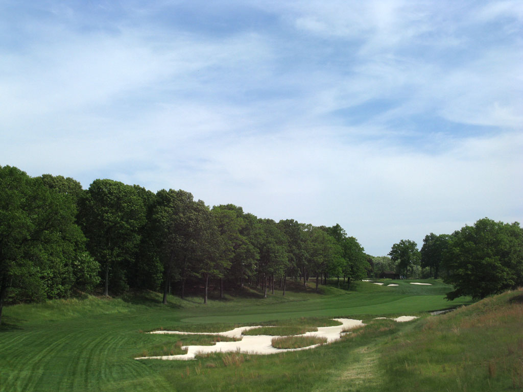 5th Hole at Bethpage State Park (Black Course) (478 Yard Par 4)