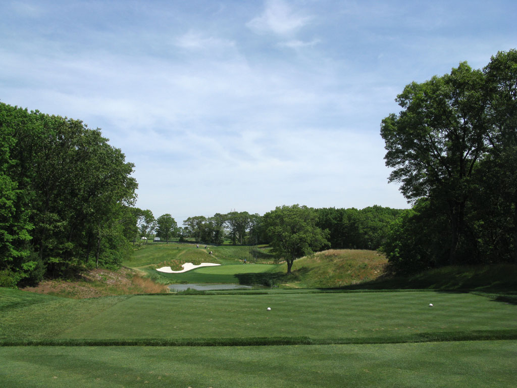 8th Hole at Bethpage State Park (Black Course) (210 Yard Par 3)