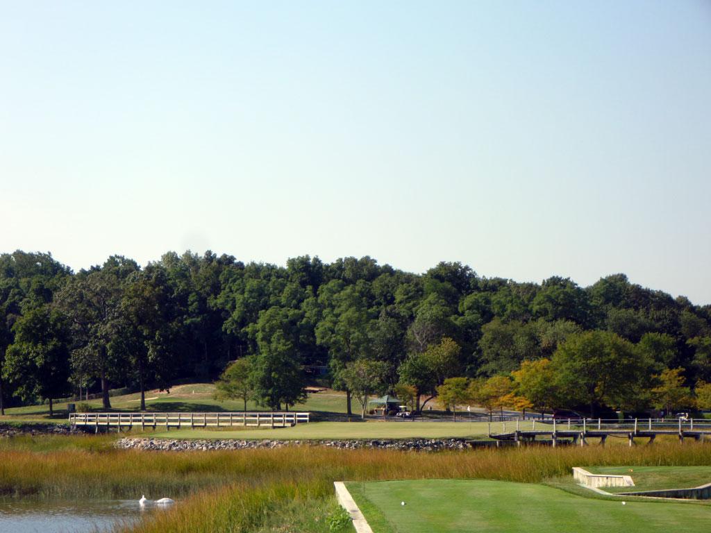 11th Hole at Creek Club (200 Yard Par 3)
