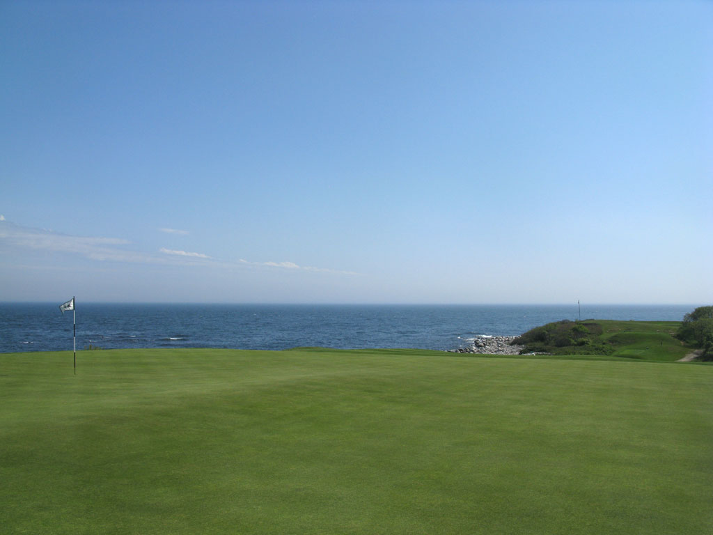 5th (Biarritz) Hole at Fishers Island (207 Yard Par 3)