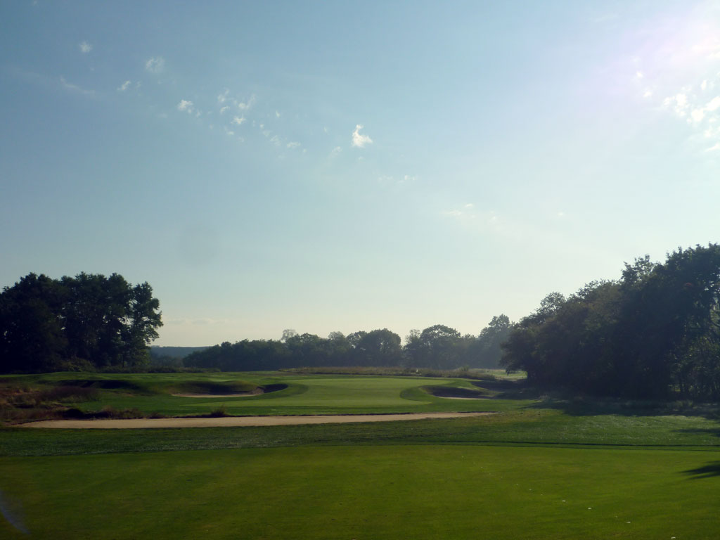 4th Hole at Garden City Golf Club (523 Yard Par 5)