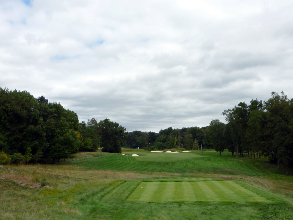 12th Hole at Hudson National Golf Club (506 Yard Par 4)