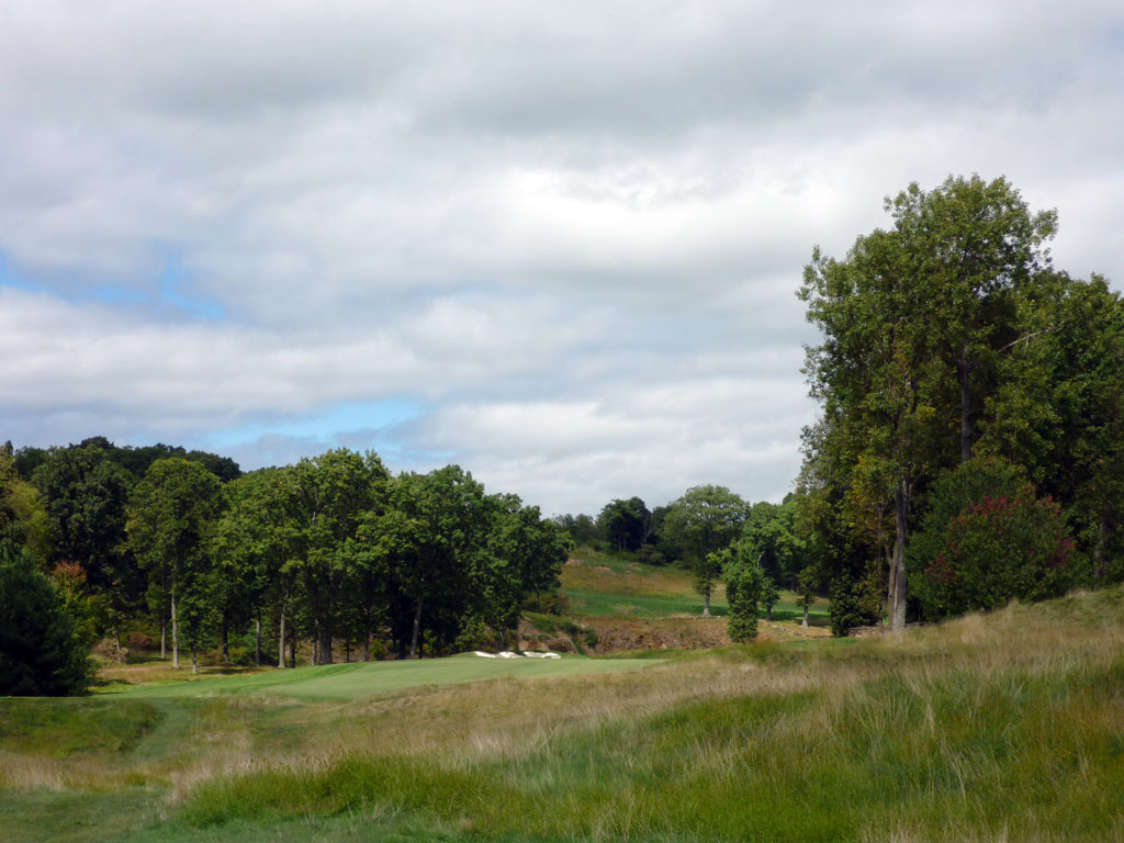 14th Hole at Hudson National Golf Club (544 Yard Par 5)