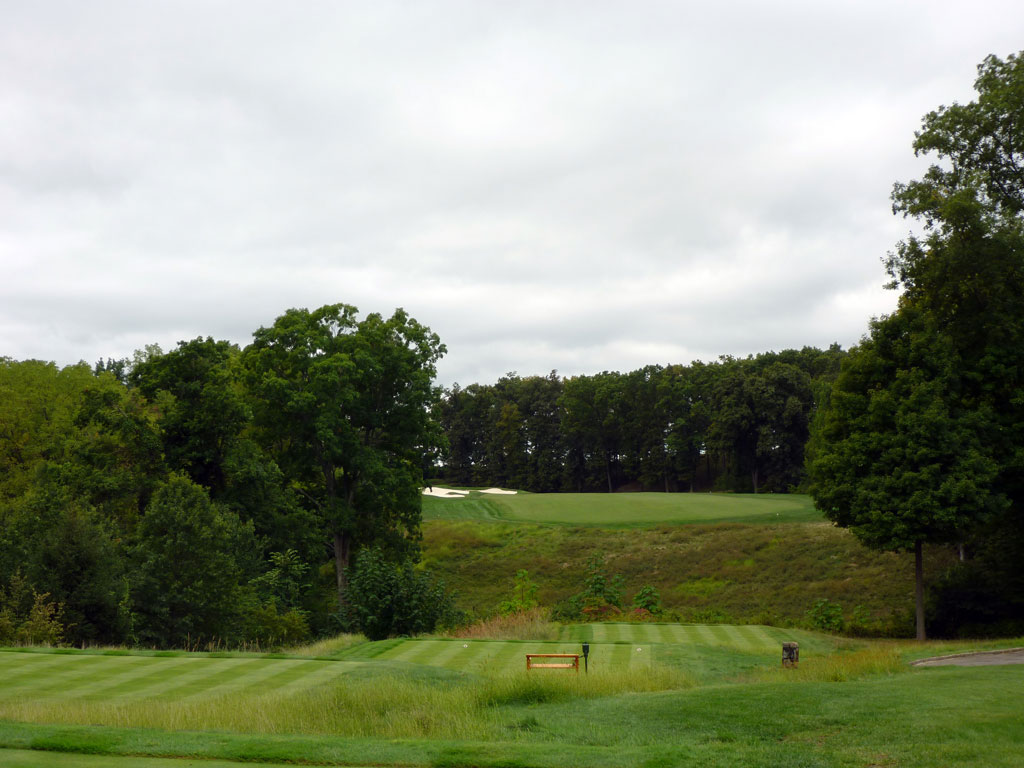9th Hole at Hudson National (558 Yard Par 5)