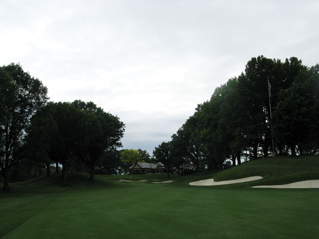 13th Hole at Oak Hill Country Club (East) (598 Yard Par 5)