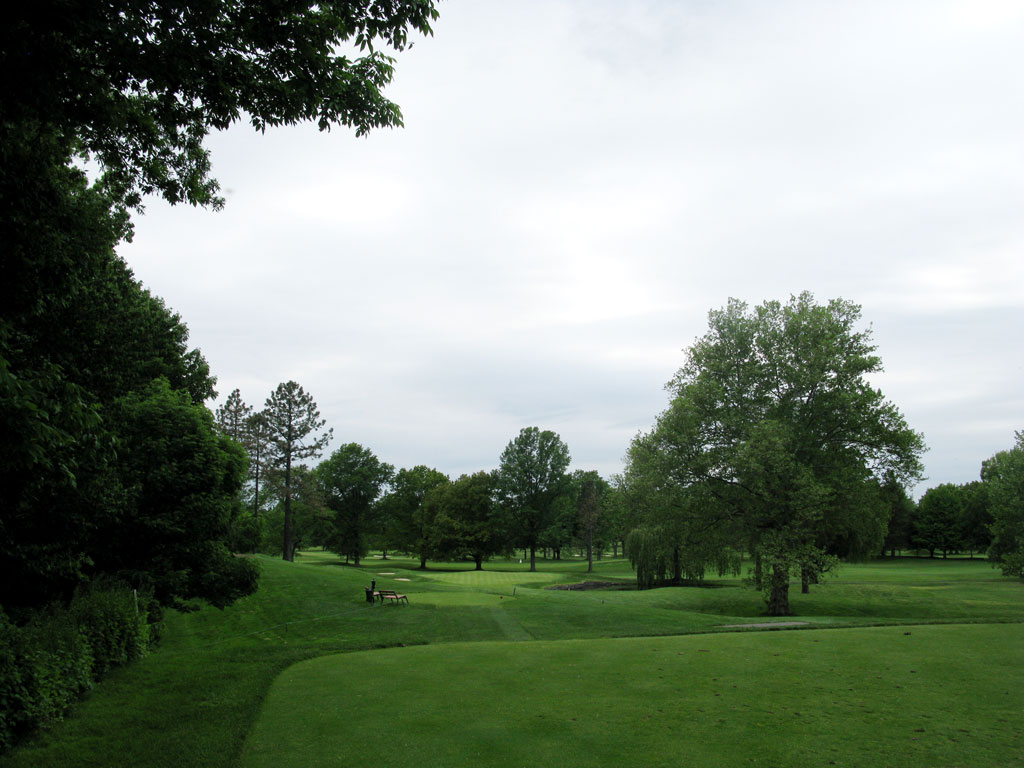 15th Hole at Oak Hill Country Club (East) (177 Yard Par 3)