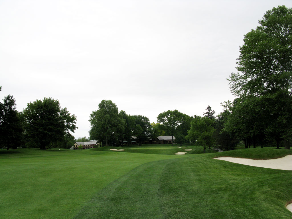 18th Hole at Oak Hill Country Club (East) (488 Yard Par 4)