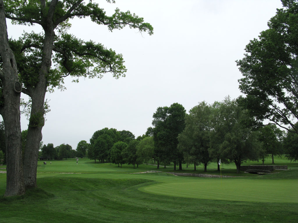 1st Hole at Oak Hill Country Club (East) (460 Yard Par 4)