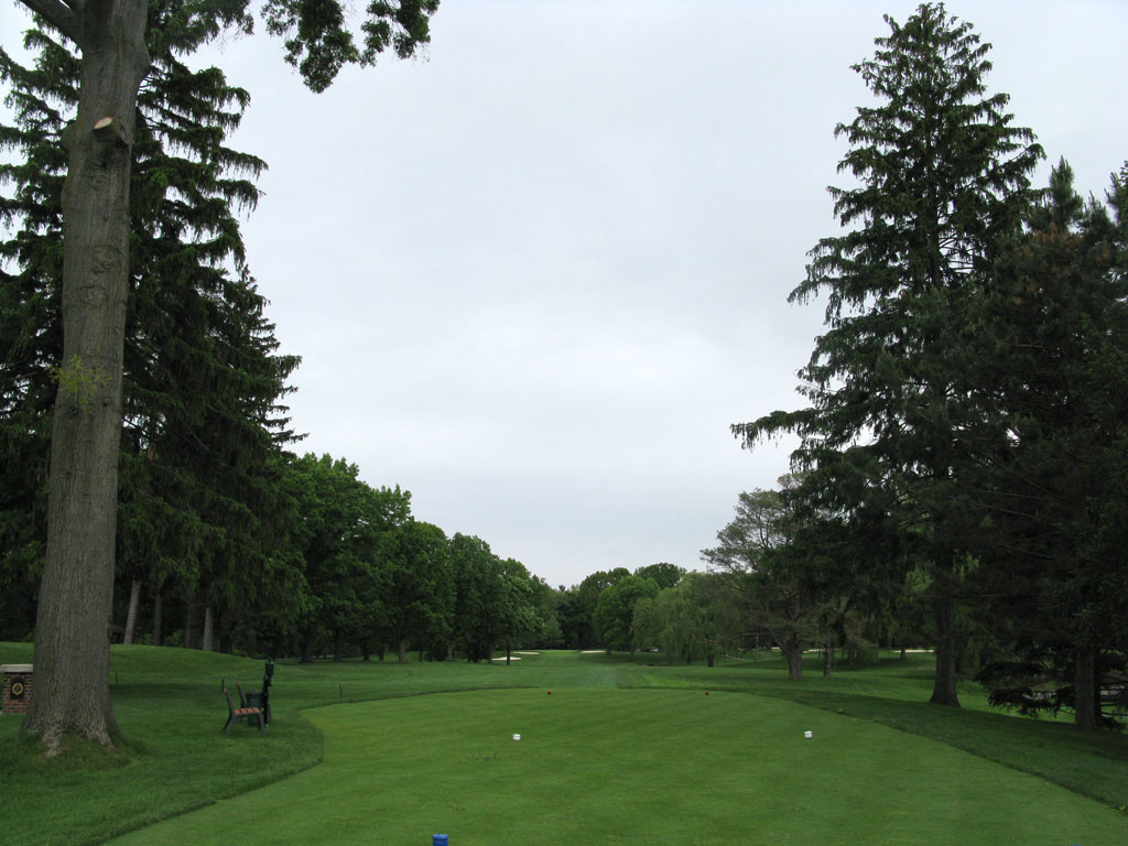 7th Hole at Oak Hill Country Club (East) (461 Yard Par 4)
