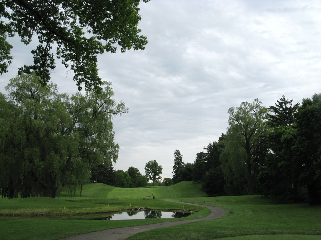 13th Hole at Oak Hill Country Club (West) (448 Yard Par 4)