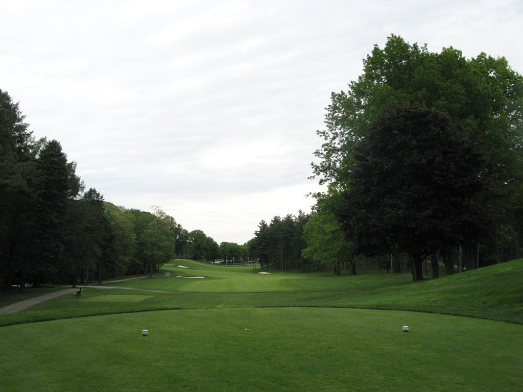 7th Hole at Oak Hill Country Club (West) (442 Yard Par 4)
