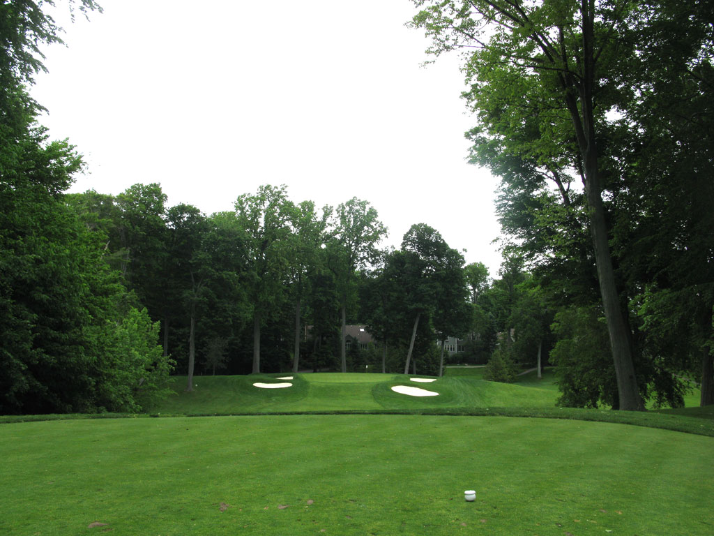 8th Hole at Oak Hill Country Club (West) (156 Yard Par 3)
