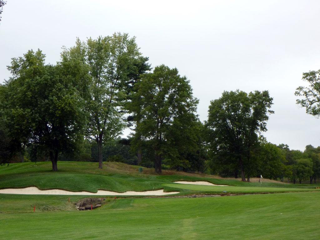 11th Hole at Quaker Ridge (406 Yard Par 4)