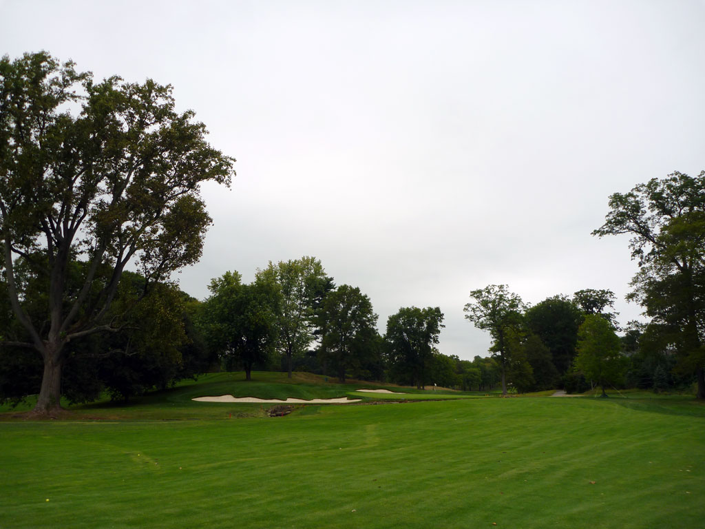 11th Hole at Quaker Ridge Golf Club (406 Yard Par 4)