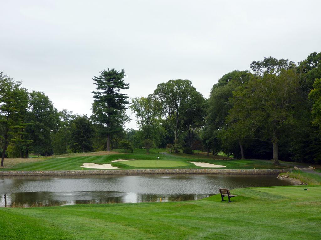 5th Hole at Quaker Ridge Golf Club (185 Yard Par 3)