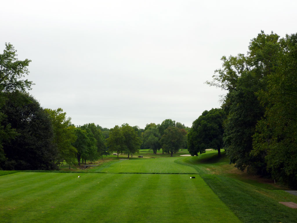 6th Hole at Quaker Ridge Golf Club (446 Yard Par 4)