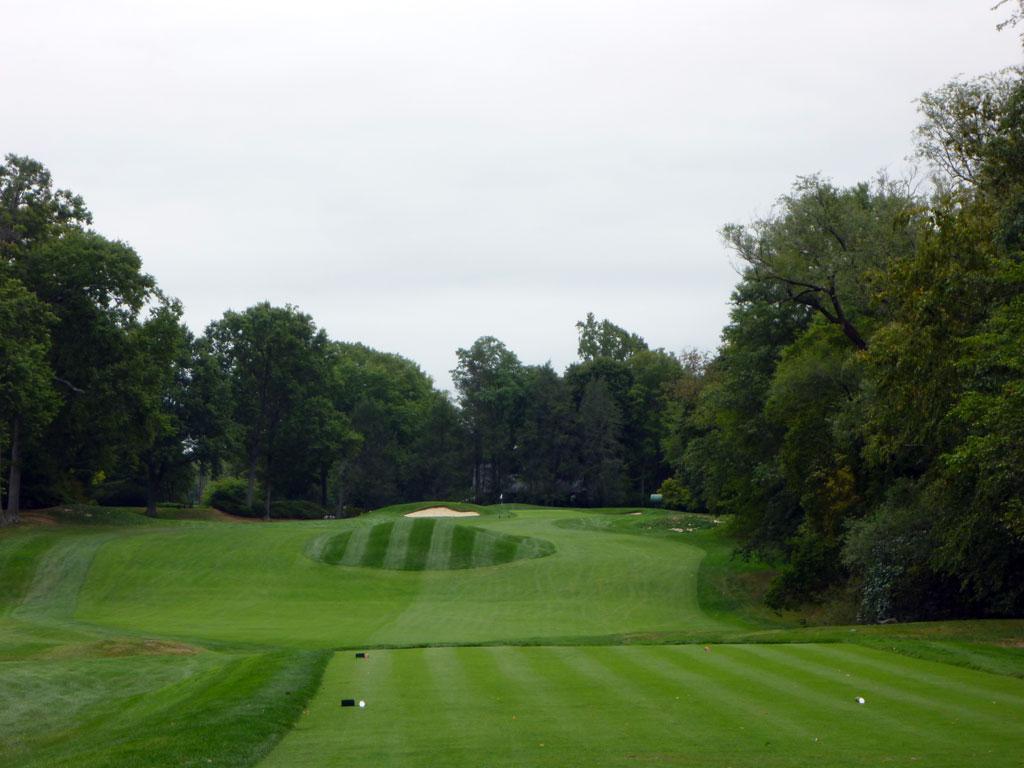8th Hole at Quaker Ridge (359 Yard Par 4)