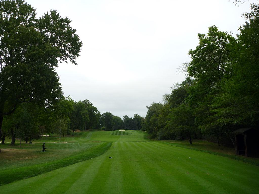 8th Hole at Quaker Ridge Golf Club (359 Yard Par 4)
