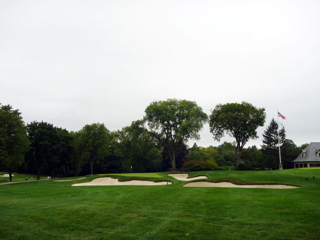 9th Hole at Quaker Ridge Golf Club (164 Yard Par 3)