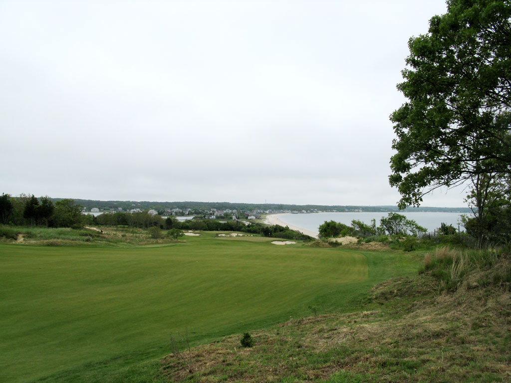 11th Hole at Sebonack (496 Yard Par 4)