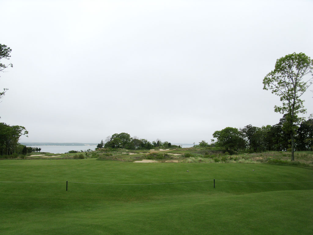 17th Hole at Sebonack (220 Yard Par 3)