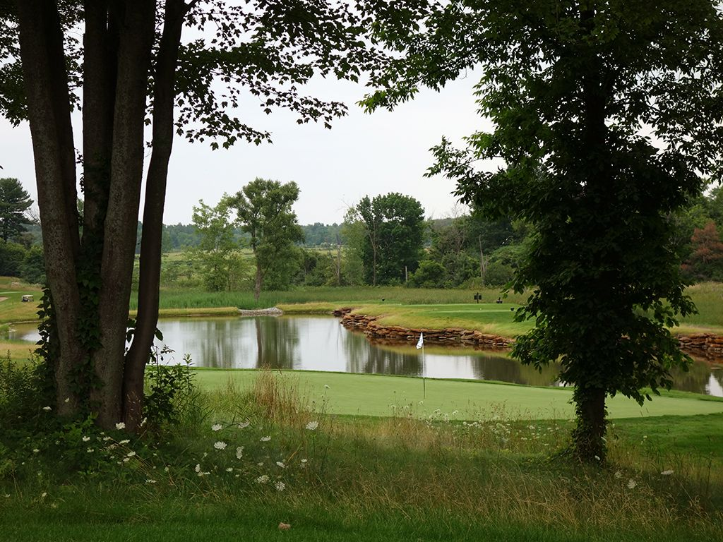 14th Hole at Shenendoah Golf Club at Turning Stone (168 Yard Par 3)