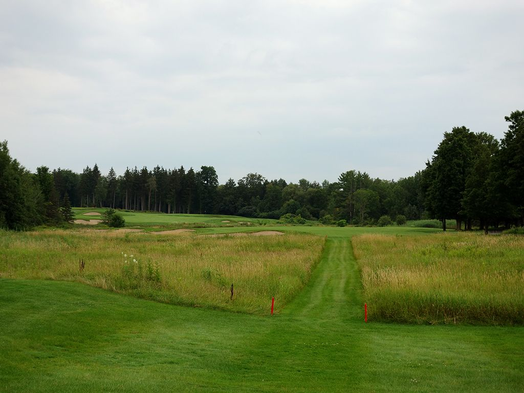 18th Hole at Shenendoah Golf Club at Turning Stone (553 Yard Par 5)