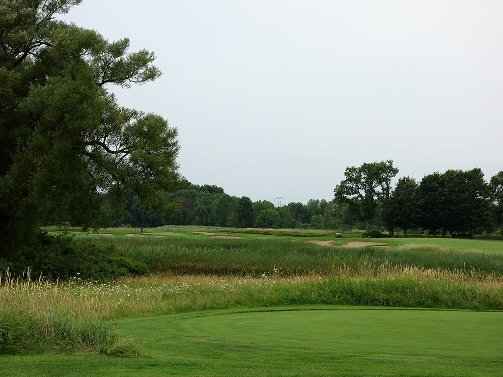 7th Hole at Shenendoah Golf Club at Turning Stone (364 Yard Par 4)