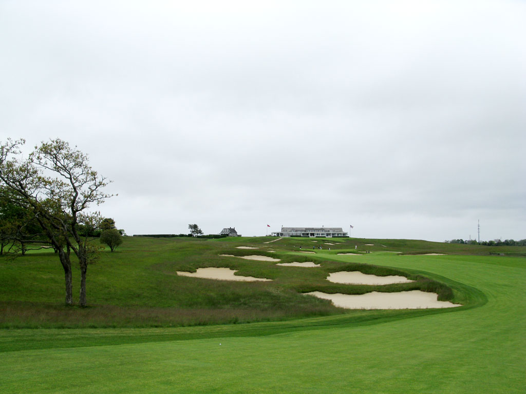 16th Hole at Shinnecock Hills Golf Club (544 Yard Par 5)