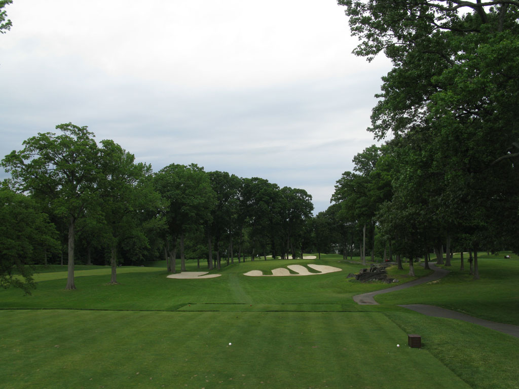13th Hole at Winged Foot Golf Club (East) (146 Yard Par 3)