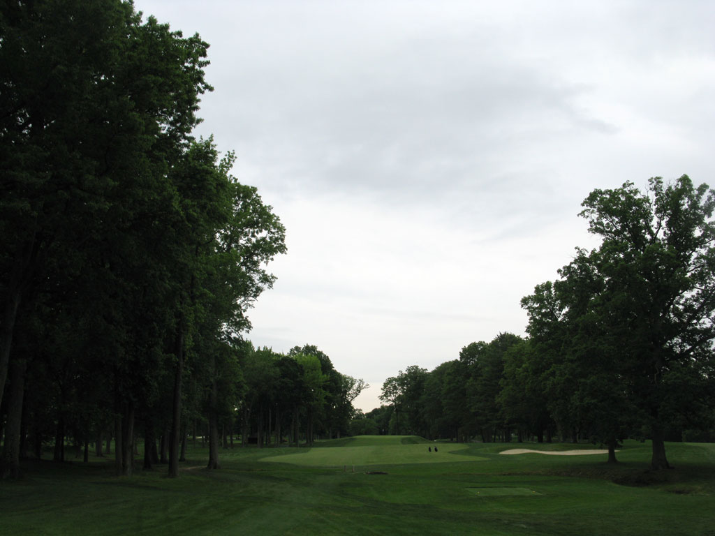 15th Hole at Winged Foot Golf Club (East) (336 Yard Par 4)