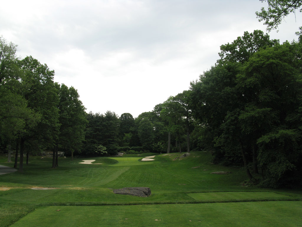3rd Hole at Winged Foot Golf Club (East) (148 Yard Par 3)
