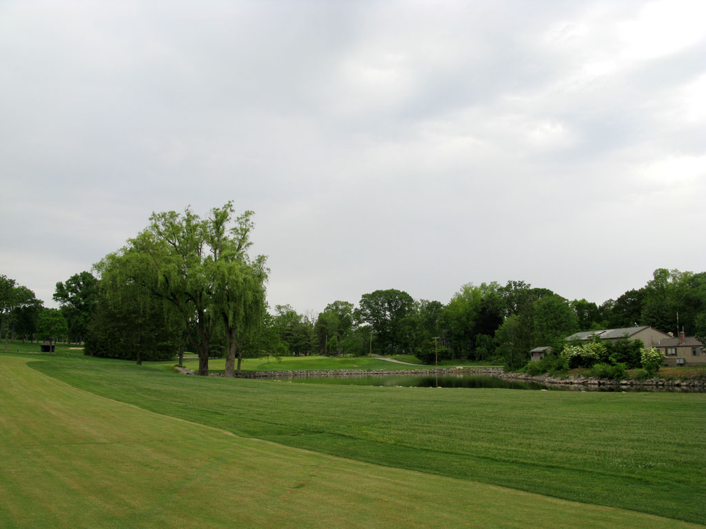 4th Hole at Winged Foot Golf Club (East) (578 Yard Par 5)
