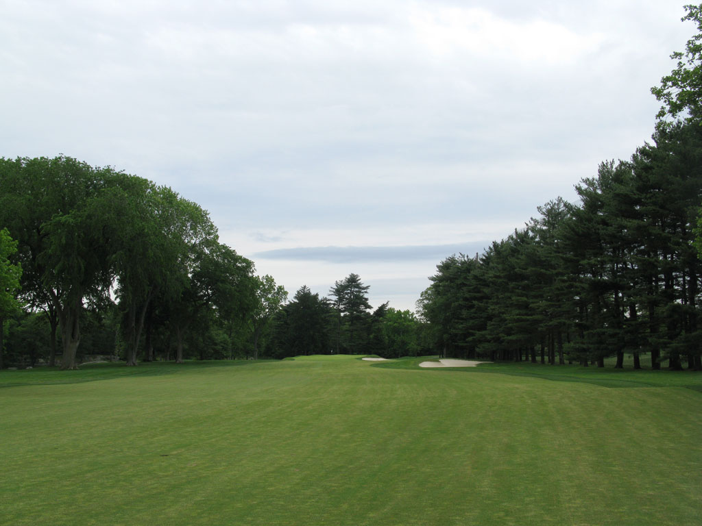 8th Hole at Winged Foot Golf Club (East) (451 Yard Par 5)