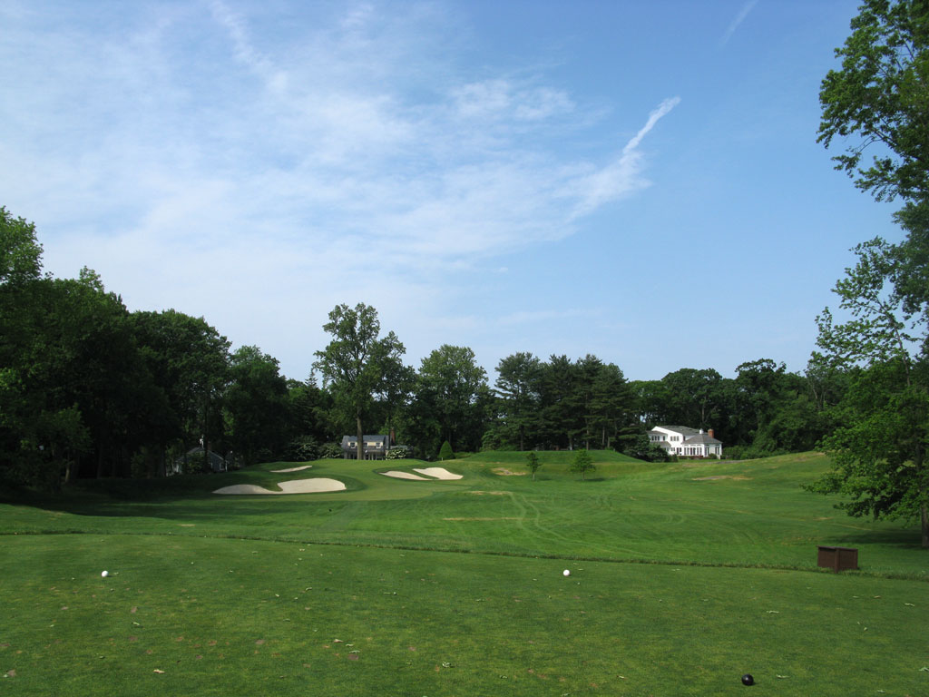 10th Hole at Winged Foot Golf Club (West) (190 Yard Par 3)