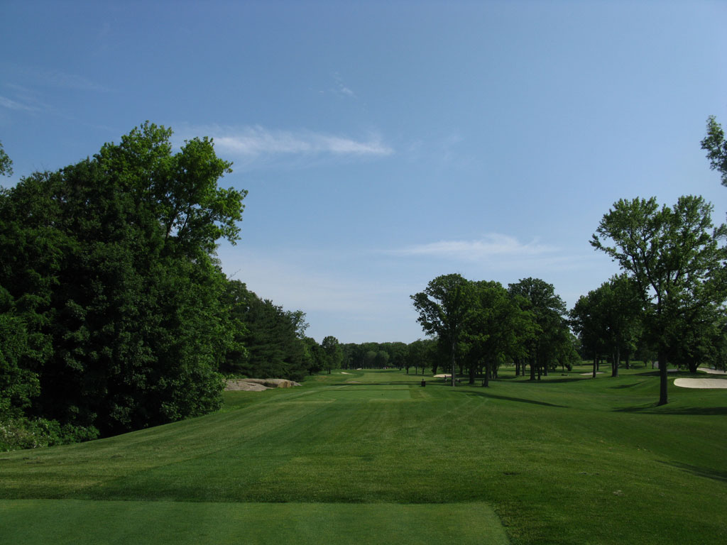 12th Hole at Winged Foot Golf Club (West) (630 Yard Par 5)