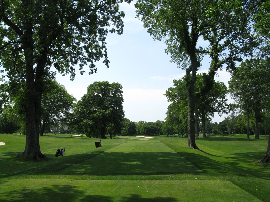 18th Hole at Winged Foot Golf Club (West) (452 Yard Par 4)