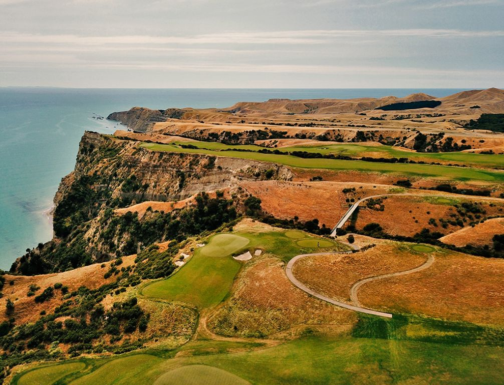 13th Hole at Cape Kidnappers Golf Course (130 Yard Par 3)