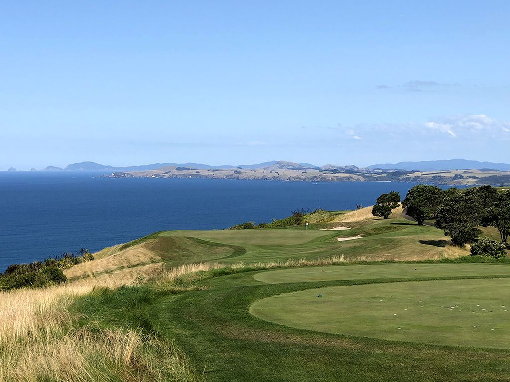 14th Hole at Kauri Cliffs Golf Course (230 Yard Par 3)