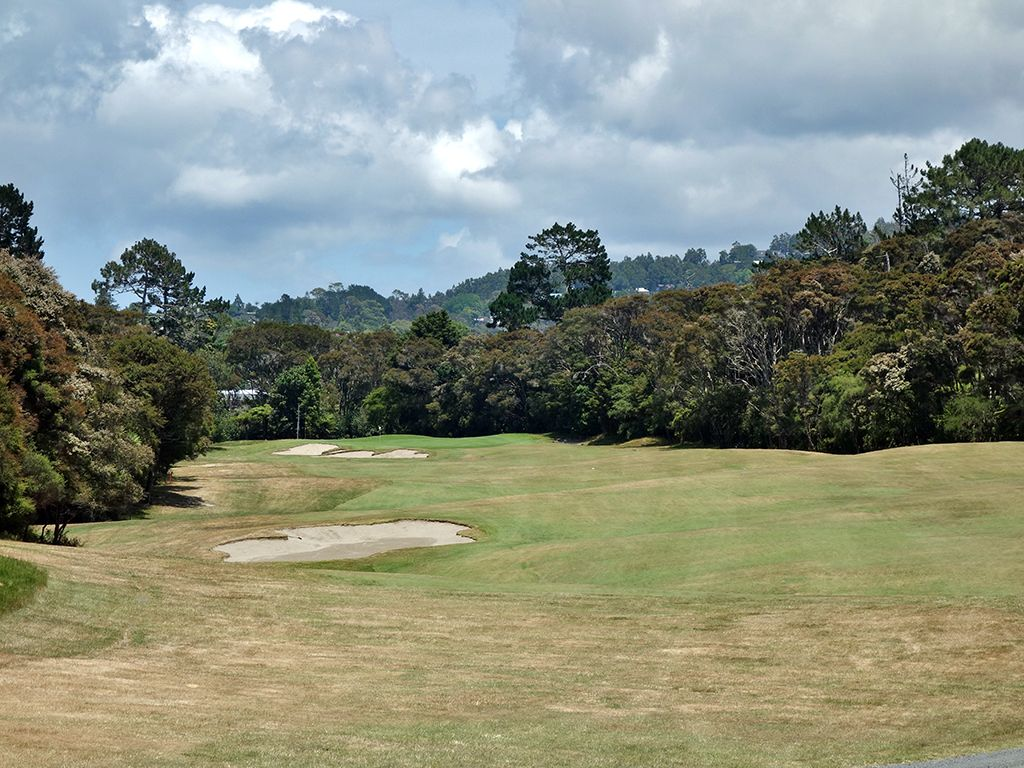 12th Hole at Titirangi Golf Club (454 Yard Par 4)