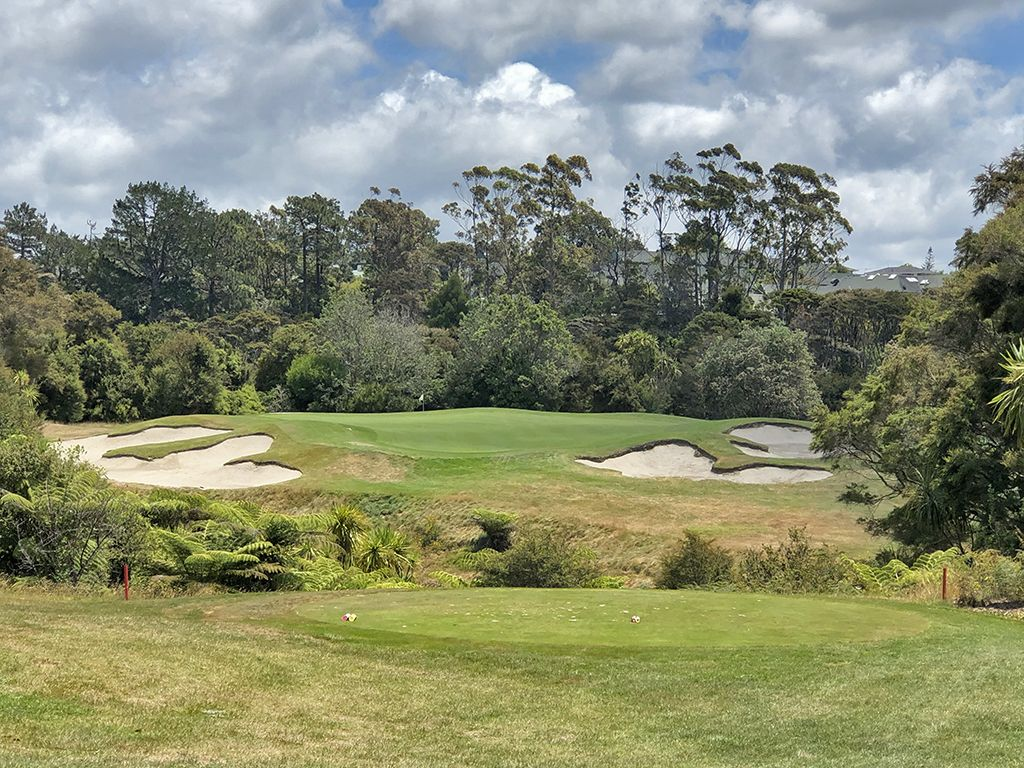 14th Hole at Titirangi Golf Club (205 Yard Par 3)