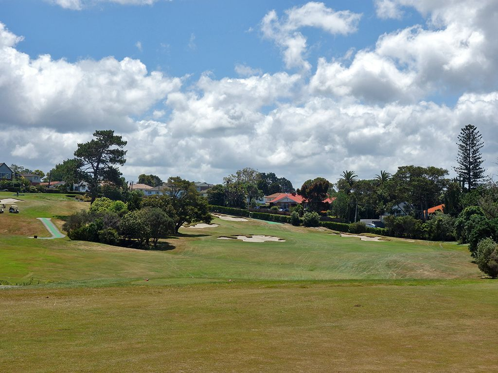 18th Hole at Titirangi Golf Club (384 Yard Par 4)