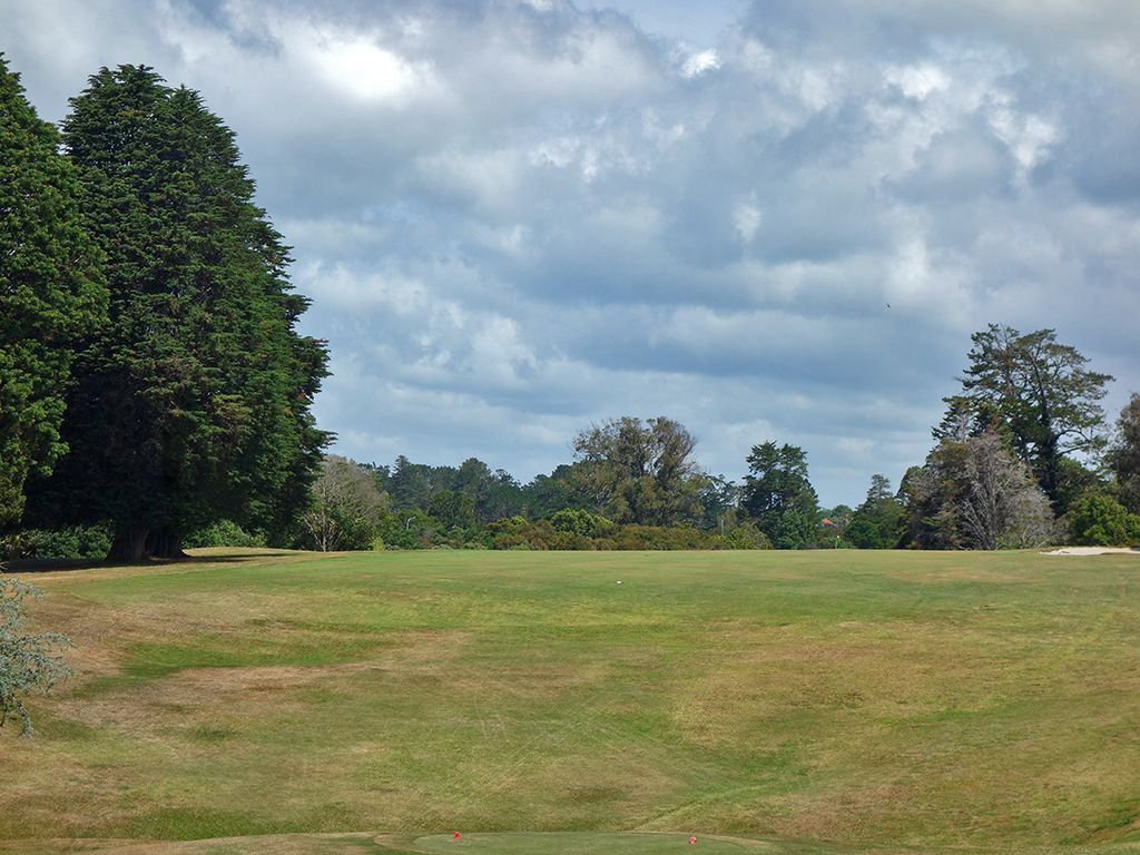1st Hole at Titirangi Golf Club (308 Yard Par 4)
