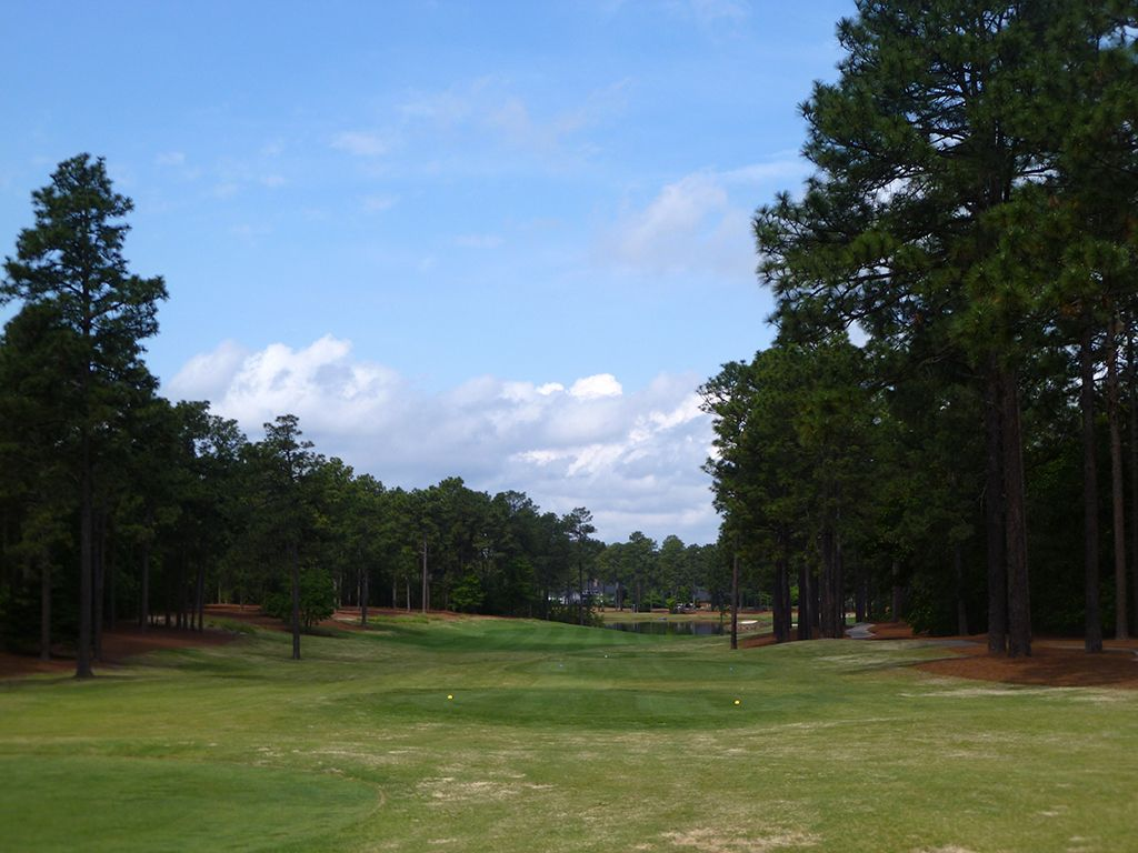 18th Hole at Pinehurst Resort No.9 (460 Yard Par 4)