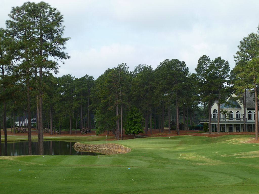 9th Hole at Pinehurst Resort No.9 (176 Yard Par 3)