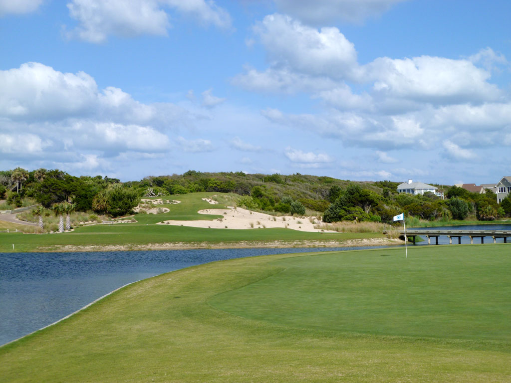 16th Hole at Bald Head Island (187 Yard Par 3)