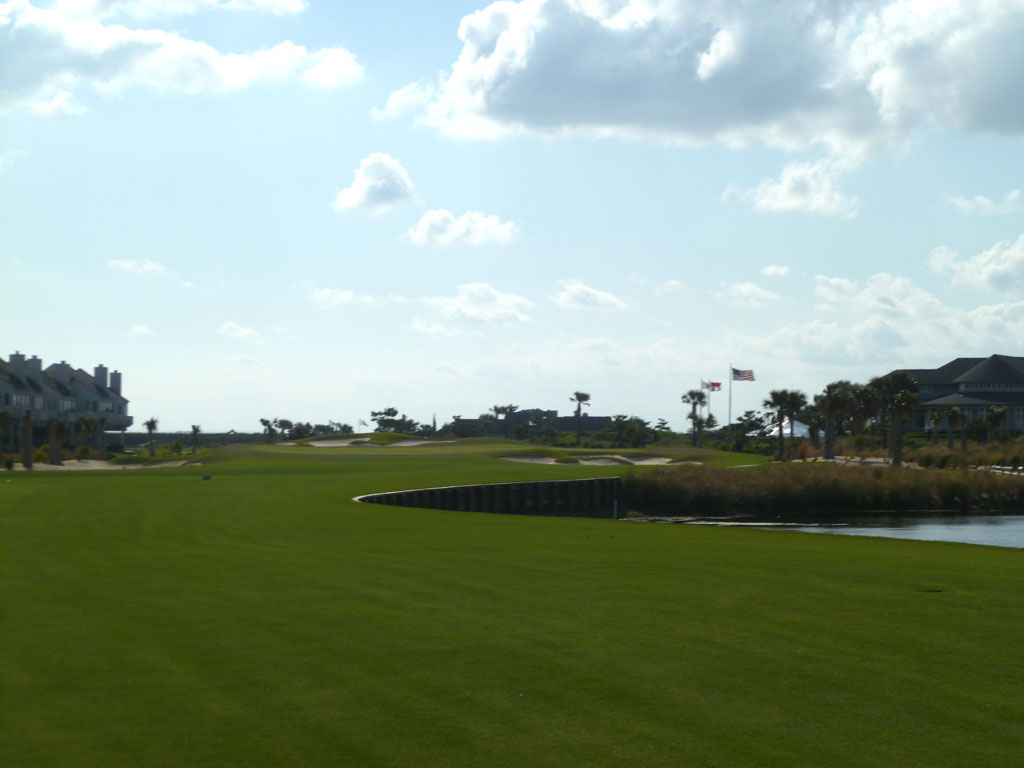 18th Hole at Bald Head Island (444 Yard Par 4)