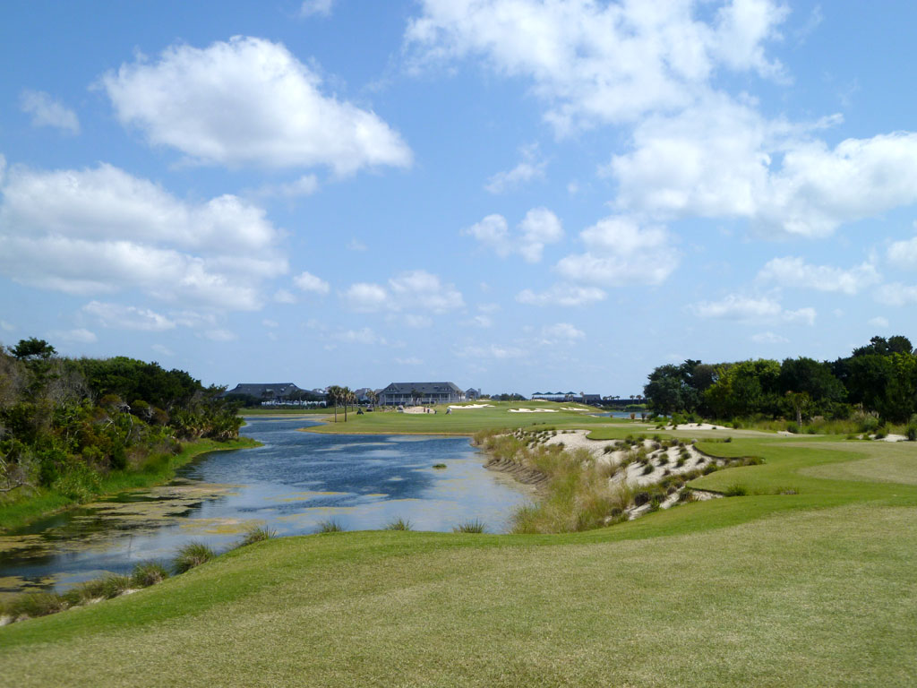 9th Hole at Bald Head Island (430 Yard Par 4)