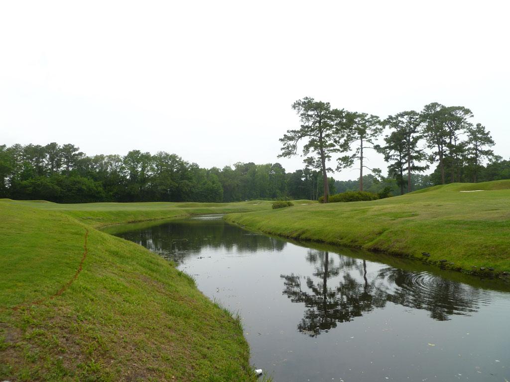 13th Hole at Cape Fear Country Club (345 Yard Par 4)